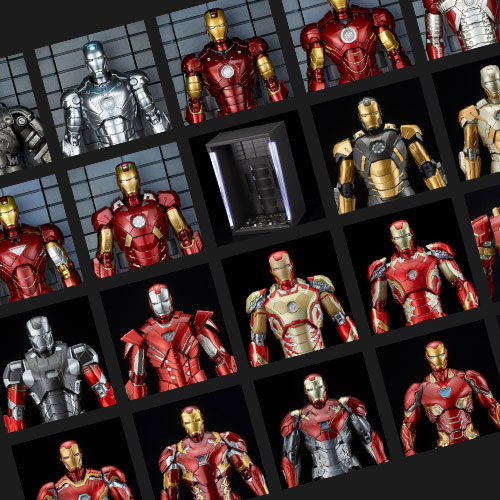 CLUB TAMASHII MEMBERS限定!「Tony Stark's Suits Library」